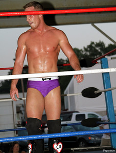 Cameron Matthews during the Top Rope Promotions (TRP) Wrestling show held on June 29, 2012 at the Brockton Fair in Brockton, Massachusetts