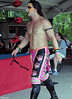 "Tomahawk after his match against Christian Casanova at Lucky Pro Wrestling's ""High Incident 2"" event held on August 20, 2016 at the Elks Lodge Outdoor Pavilion in Hudson, Massachusetts."