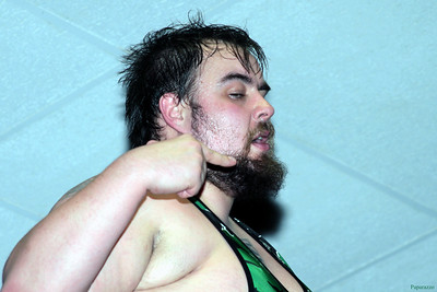 "Lance Madewell at the Truly Independent Wrestling (aka TIW Wrestling) ""Snow Brawl"" event held on January 28, 2017 at the Pilgrim Memorial Church and Parish House in Pittsfield, Massachusetts."