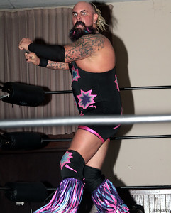 "Foxx Vinyer of The Echo Boomers at the Truly Independent Wrestling (aka TIW Wrestling) ""Snow Brawl"" event held on January 28, 2017 at the Pilgrim Memorial Church and Parish House in Pittsfield, Massachusetts."