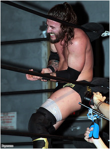 """JT Dunn at the Xtreme Wrestling Alliance (aka XWA Wrestling) """"Thursday Night Throwdown"""" event held on January 18, 2018 at the XWA Event Center in West Warwick, Rhode Island."""