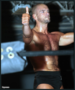 """Martin Stone at the Xtreme Wrestling Alliance (aka XWA Wrestling) """"Thursday Night Throwdown"""" event held on January 18, 2018 at the XWA Event Center in West Warwick, Rhode Island."""
