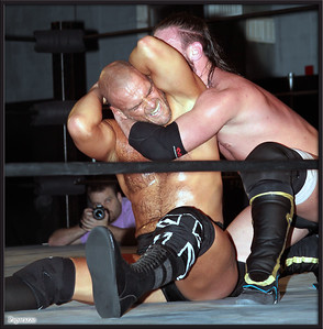 """JT Dunn vs. Martin Stone at the Xtreme Wrestling Alliance (aka XWA Wrestling) """"Thursday Night Throwdown"""" event held on January 18, 2018 at the XWA Event Center in West Warwick, Rhode Island."""