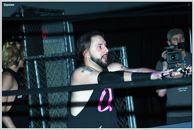 "Nick Delta of the Alpha Squad during the Xtreme Wrestling Alliance (aka XWA Wrestling) ""Thursday Night Throwdown"" event held on May 17, 2018 at the XWA Event Center in West Warwick, Rhode Island."