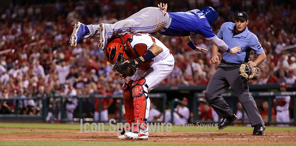 MLB: APR 25 Blue Jays at Cardinals