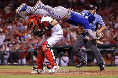 MLB: APR 25 Blue Jays at Cardinals