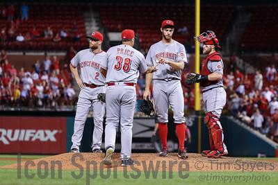 MLB: AUG 08 Reds at Cardinals