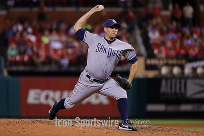 MLB: AUG 24 Padres at Cardinals