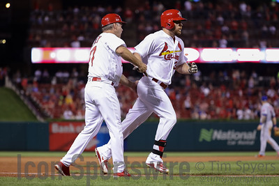 MLB: AUG 25 Mets at Cardinals