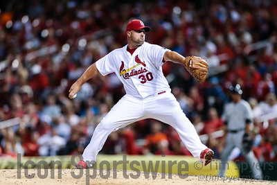 MLB: SEP 24 Brewers at Cardinals