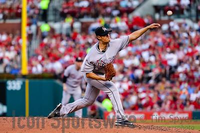 MLB: JUL 15 Marlins at Cardinals
