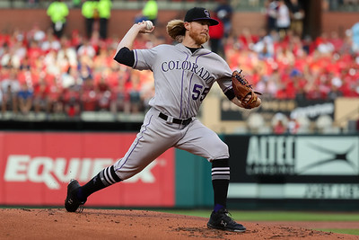 MLB: JUL 31 Rockies at Cardinals