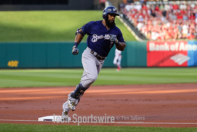 MLB: JUN 14 Brewers at Cardinals