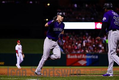 MLB: MAY 19 Rockies at Cardinals