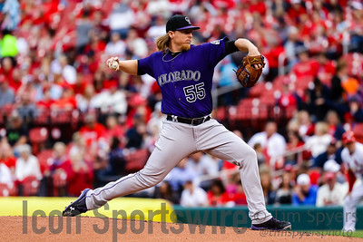 MLB: MAY 19 Rockies at Cardinals