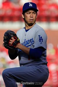 MLB: MAY 30 Dodgers at Cardinals