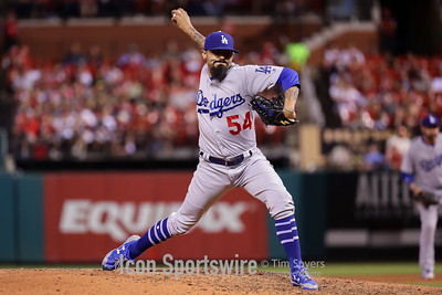 MLB: MAY 30 Dodgers at Cardinals