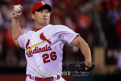 MLB: MAY 31 Dodgers at Cardinals