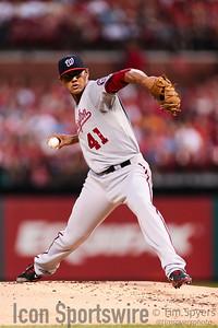 MLB: SEP 01 Nationals at Cardinals