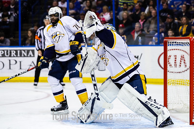 NHL: APR 02 Predators at Blues