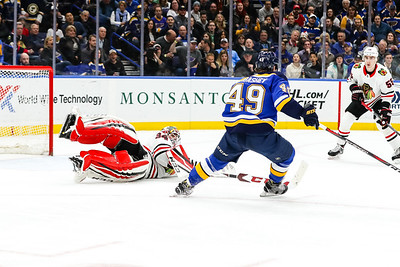 NHL: APR 04 Blackhawks at Blues