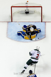 NHL: APR 19 Round 1 Game 4 - Wild at Blues