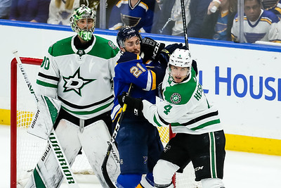 NHL: APR 27 Stanley Cup Playoffs Second Round - Stars at Blues