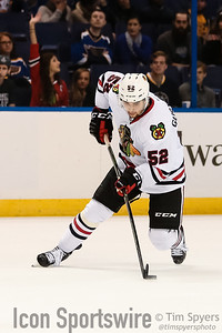 NHL: OCT 01 Preseason - Blackhawks at Blues