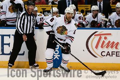NHL: OCT 01 Preseason - Blackhawks at Blues