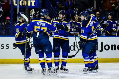 NHL: DEC 01 Lightning at Blues