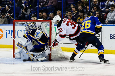 NHL: DEC 15 Devils at Blues