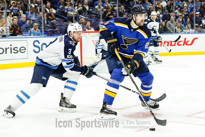 NHL: DEC 16 Jets at Blues