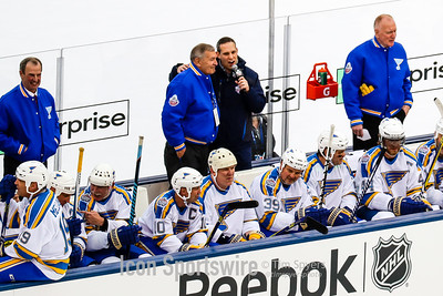 NHL: DEC 31 Winter Classic Alumni Game - Blackhawks at Blues
