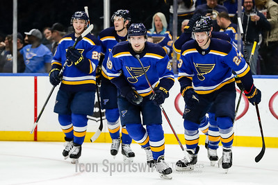 NHL: FEB 20 Sharks at Blues