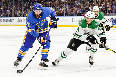 NHL: FEB 29 Stars at Blues