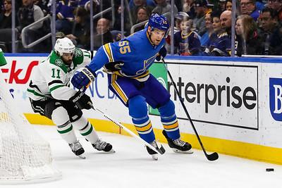 NHL: FEB 29 Stars at Blues