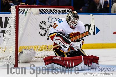 NHL: DEC 19 Flames at Blues
