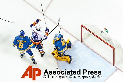 Islanders Blues Hockey