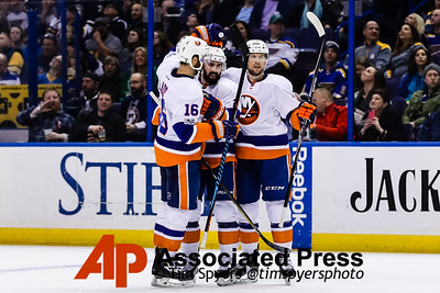 Islanders Blues Hockey