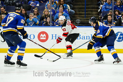 NHL: JAN 02 Devils at Blues