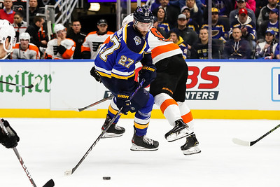 NHL: JAN 15 Flyers at Blues
