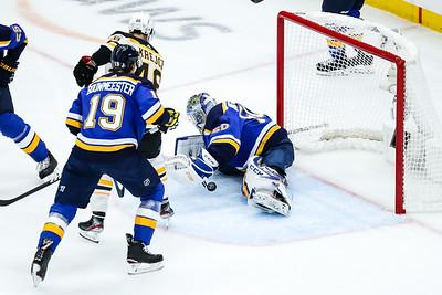 NHL: JUN 01 Stanley Cup Final - Bruins at Blues