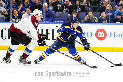 NHL: MAR 15 Avalanche at Blues