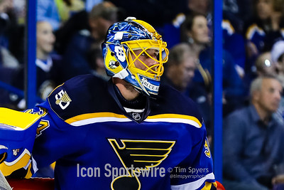 NHL: MAR 27 Coyotes at Blues