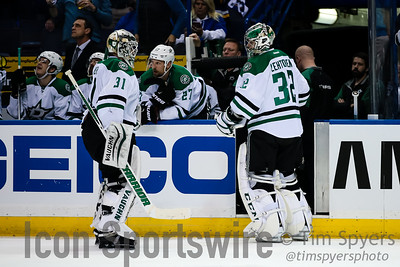 NHL: MAY 03 2nd Round - Game 3 - Stars at Blues