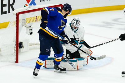 NHL: MAY 17 Stanley Cup Playoffs Western Conference Final - Sharks at Blues