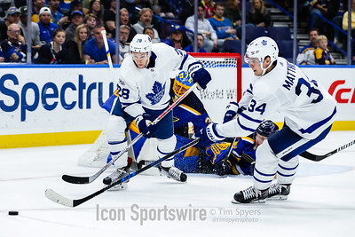 NHL: NOV 04 Maple Leafs at Blues