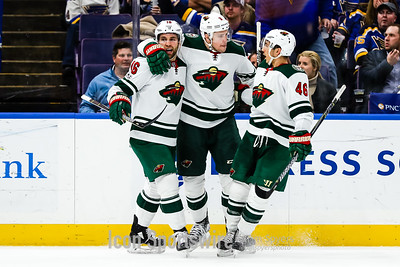 NHL: NOV 25 Wild at Blues