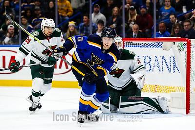NHL: NOV 25 Wild at Blues