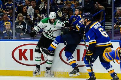 NHL: OCT 07 Stars at Blues